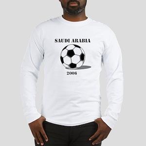 Saudi Arabia Soccer 2006 Long Sleeve T-Shirt