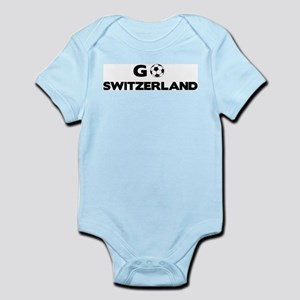 Go SWITZERLAND Infant Creeper