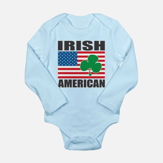 Irish American Flag Onesie Romper Suit