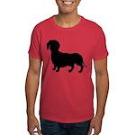 Dachshund Silhouette Dark T-Shirt