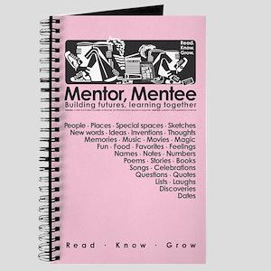 Mentor, Mentee Journal (Lt. Pink)