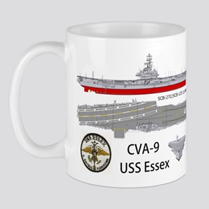 USS Essex CV-9 CVA-9 Mug