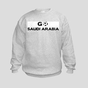 Go SAUDI ARABIA Kids Sweatshirt