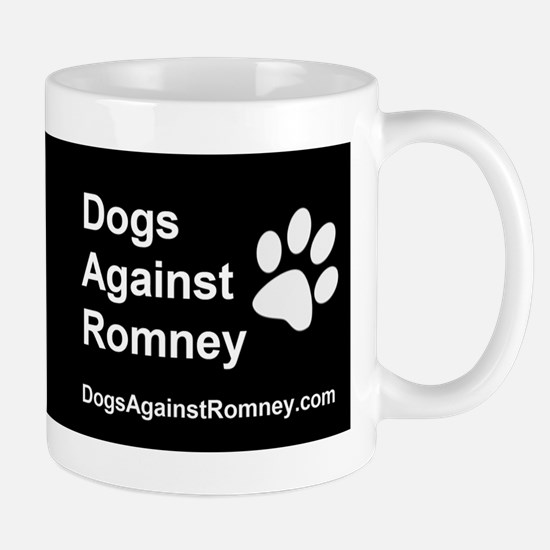 OFFICIAL Dogs Against Romney Coffee Mug