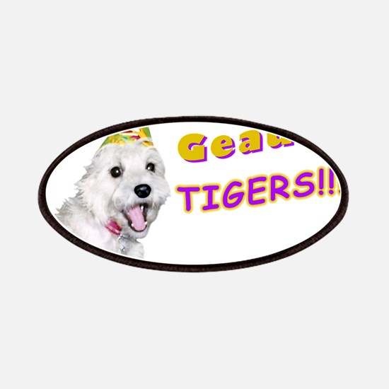 Geaux Tigers! Patches