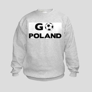 Go POLAND Kids Sweatshirt