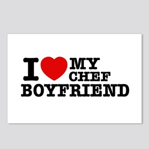I love my Chef Boyfriend Postcards (Package of 8)