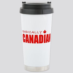Radically Canadian by Tigana Stainless Steel Trave