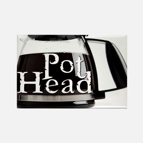 POT HEAD Rectangle Magnet