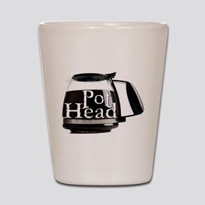 POT HEAD Shot Glass