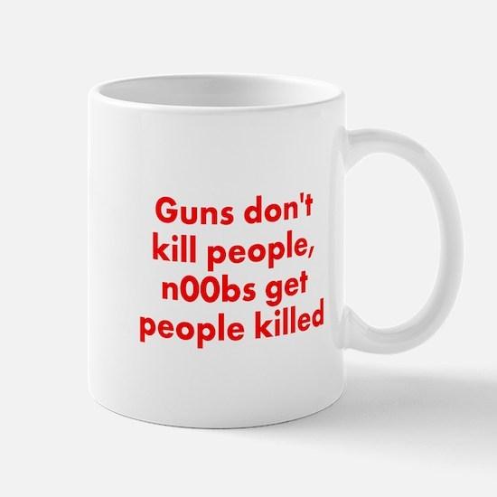 n00bs are killers Mug