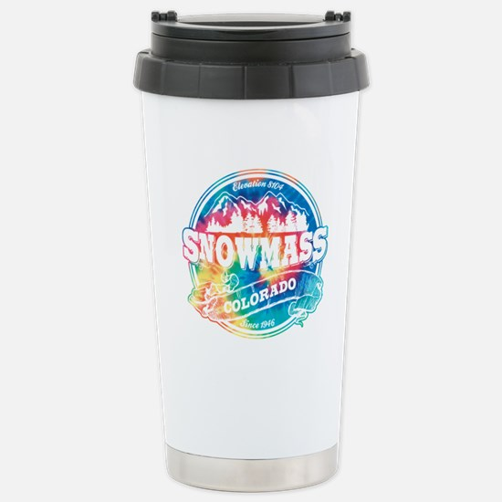 Snowmass Old Circle Stainless Steel Travel Mug