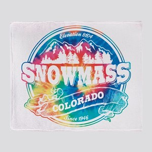 Snowmass Old Circle Throw Blanket