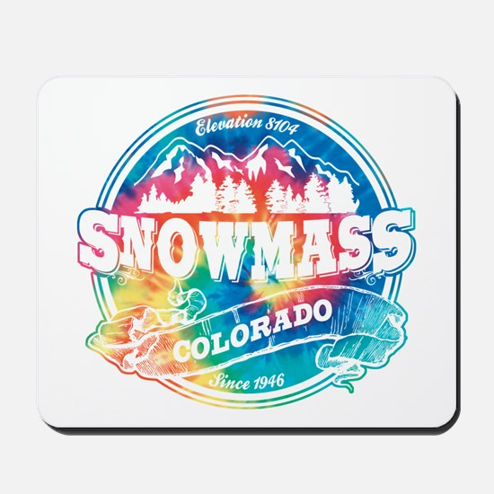 Snowmass Old Circle Mousepad