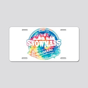Snowmass Old Circle Aluminum License Plate