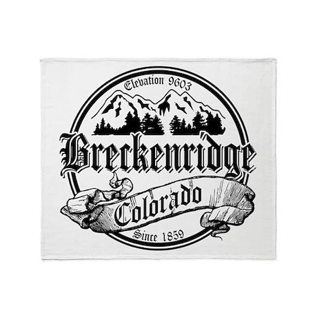 Breckenridge Old Black Throw Blanket