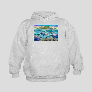 Dolphin Reef Kids Hoodie