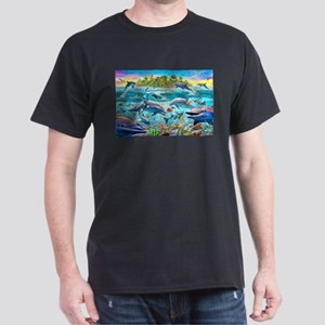 Dolphin Reef Dark T-Shirt