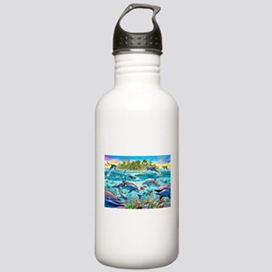 Dolphin Reef Stainless Water Bottle 1.0L