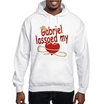 Gabriel Lassoed My Heart Hooded Sweatshirt