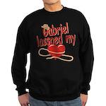 Gabriel Lassoed My Heart Sweatshirt (dark)