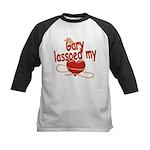 Gary Lassoed My Heart Kids Baseball Jersey