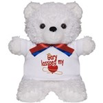 Gary Lassoed My Heart Teddy Bear