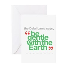 Be Gentle With The Earth Greeting Card
