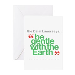Be Gentle With The Earth Greeting Cards (Pk of 10)