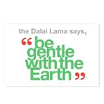 Be Gentle With The Earth Postcards (Package of 8)