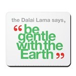 Be Gentle With The Earth Mousepad