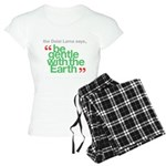 Be Gentle With The Earth Women's Light Pajamas