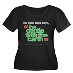 Be Gentle With The Earth Women's Plus Size Scoop N