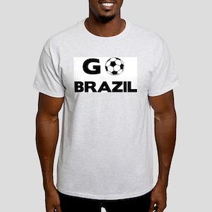 Go BRAZIL Ash Grey T-Shirt