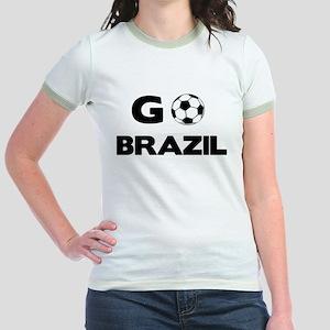 Go BRAZIL Jr. Ringer T-Shirt