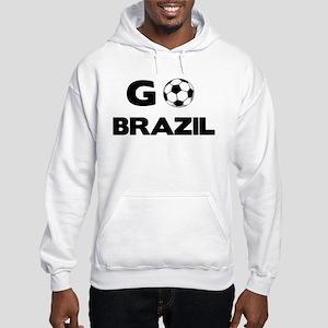 Go BRAZIL Hooded Sweatshirt