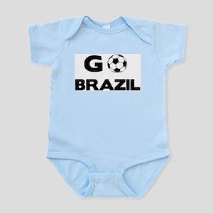 Go BRAZIL Infant Creeper