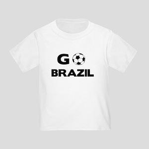Go BRAZIL Toddler T-Shirt