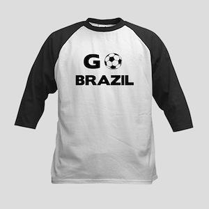 Go BRAZIL Kids Baseball Jersey