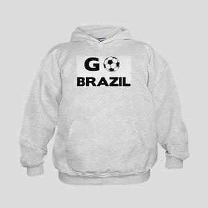 Go BRAZIL Kids Hoodie