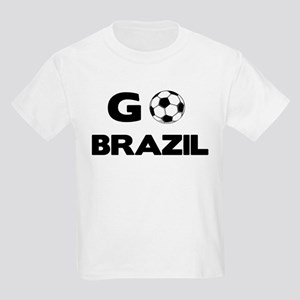 Go BRAZIL Kids T-Shirt