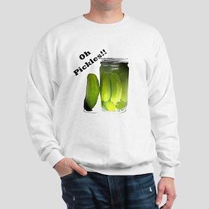 Funny Oh Pickles! Sweatshirt