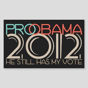Probama 2012 Sticker (Rectangle)