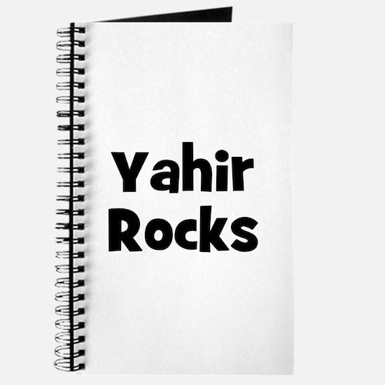 Yahir Rocks Journal