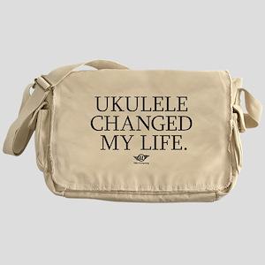 Ukulele Changed My Life Messenger Bag