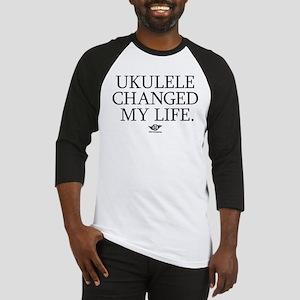 Ukulele Changed My Life Baseball Jersey