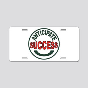 WINNING COUNTS Aluminum License Plate