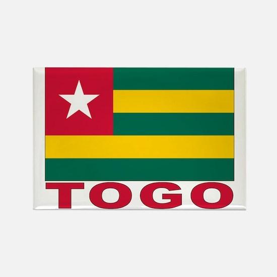 Togo Flag Rectangle Magnet