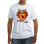 Monroe Coat of Arms Fitted T-Shirt