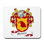 Monroe Coat of Arms Mousepad